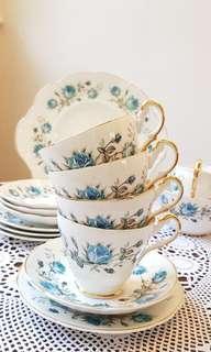 Vintage teaset teapot bone china from UK