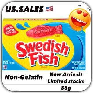 New Arrivals- Swedish Fish ( non-gelatin)  99g from 🇺🇸