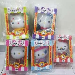 🚚 ●●Mcdonald Hello Kitty Circus●●