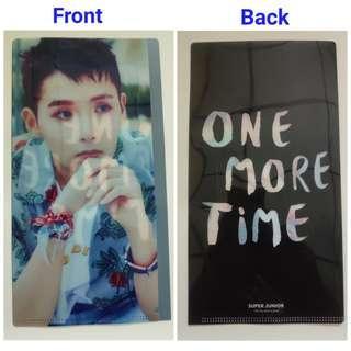 [WTT] Super Junior One More Time Poster & File