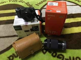 [sold] Sony a5100 with E 55-210 mm len