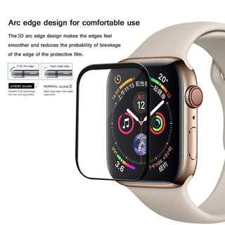 Brand new Apple Watch Series 4 3D Curved Tempered Glass Screen Protector - 40mm/44mm (Free postage)