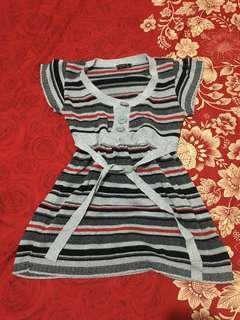 Stripe Long blouse