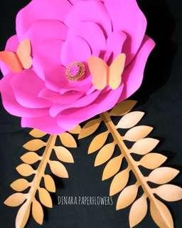 Bunga kertas lamaran murah jogjakarta
