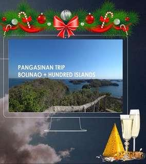 HOLIDAY TRAVEL 2D1N Hundred Islands + Bolinao