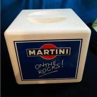Used Martini wine beer alcohol ice cooler box on the rock drink wine