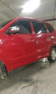 Toyota Avanza VVTI Type E upgrade jd G 2008 akhir, pajak hidup, plat s/d 2023
