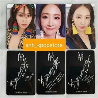 "(PO) SNSD/ Girls Generation Yuri ""The first sense"" photocards"