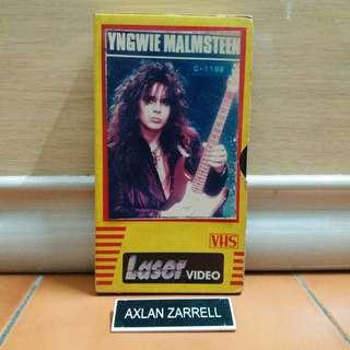 Yngwie Malmsteen VHS Video Tape