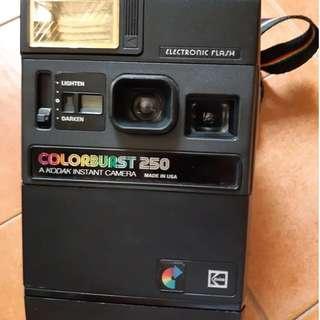 Used Kodak Colorburst 250 camera polaroid vintage collectible
