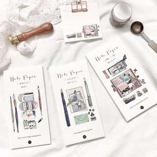 [Ready Stock] Water Color Design Notepad