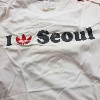 Adidas tee seoul edition