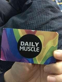Daily Muscle Lighthouse Smoothie Card