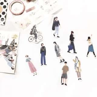 [Ready Stock] People Stickers