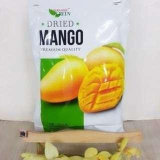 泰芒果乾 🎉等了3個月終於到貨了🎉PARADISE GREEN 芒果乾!每一口咀嚼時能感受到其溫潤的芒果果肉及香
