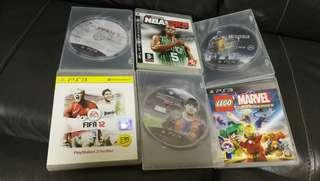 PS3 game lego fifa $160 六隻。