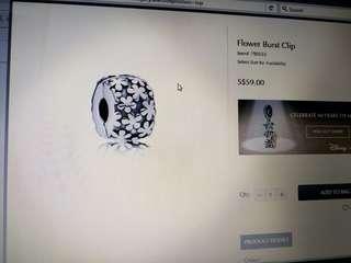 Flower burst clip