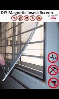 BNIB DIY Magnetic Window Insect Screen