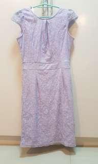 Lavander Lace dress
