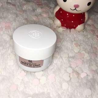 THE BODY SHOP TBS Drops Of Light Care Brightening Day Cream Moisturizer 50ml