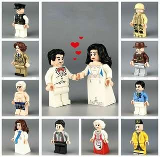 Miniature blocks wedding SALE