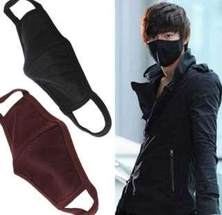 Kpop Ulzzang Korean Fashion Mask ( BLACK)