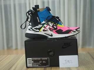 5US, 6US, 7US Acronym x Nike Air Presto Racer Pink