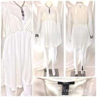 Very Sexy sexy white dress