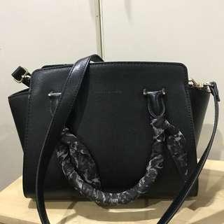 Charles & Keith Tote with long strap