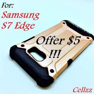 Samsung S7 Edge Tough Armor Case