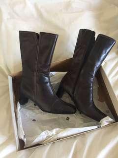 Ecco genuine leather boots