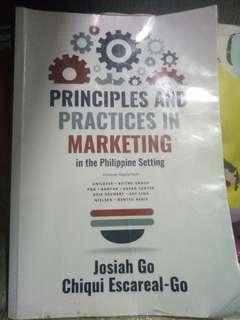 Principles and Practices in Marketing