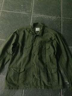Save My Monday Valiant Jacket Green Army