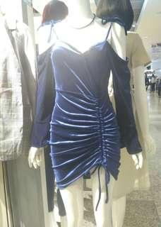 Blue Velvet Dress #XMAS25
