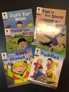 Oxford Reading Tree 兒童 英文 書 children english book 6 books 牛津