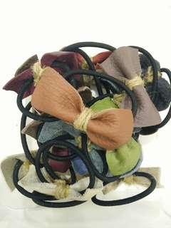 Handmade leather hairband