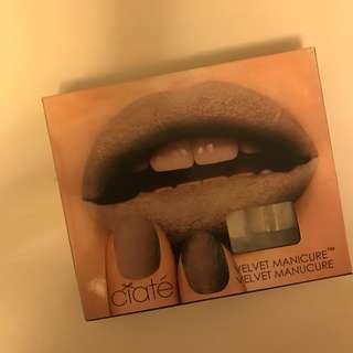 全新 英國 uk new ciate 灰色 毛毛面 指甲油 套裝 nail polish set grey 冬季