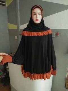 Hijab tangan jersy