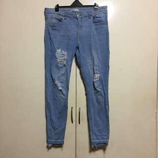 Calliope distressed jeans XL