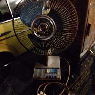 Vintage National Fan