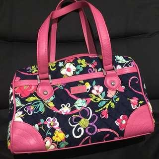 Authentic Vera Bradley Floral Quilted Doctors Bag