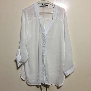 SM Woman White blouse XL