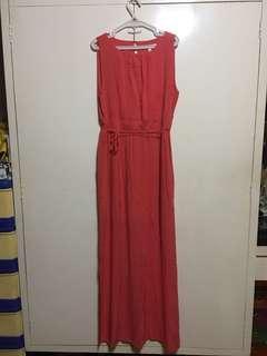 Springfield maxi dress/long dress XL