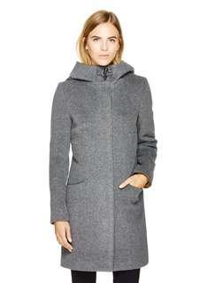 Aritzia babaton pearce wool coat