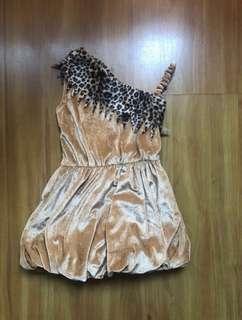 Safari bubble dress costume