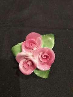 英國制瓷襟花,不议價
