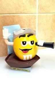 M & M's Candy Dispenser ( Yellow Columbus )
