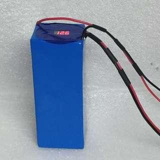 Booster battery 12V 20.8ah lithium battery pack for Electric bike ebike, electric scooter escooter….. battery