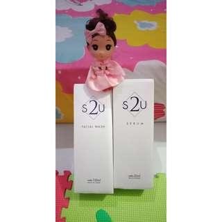 S2U Serum & Facial Wash