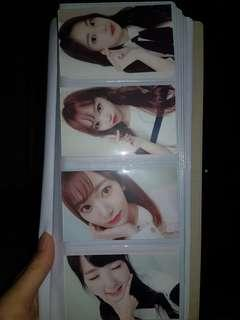 WTT Izone cafe event photocards